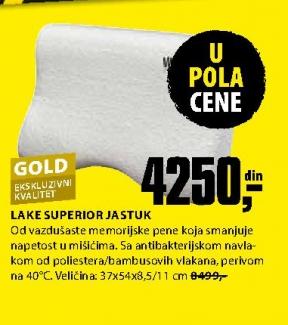 LAKE SUPERIOR JASTUK