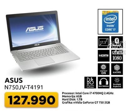 Laptop N750jv-z4191