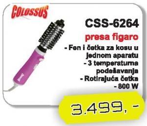 Presa za kosu figaro CSS-6264