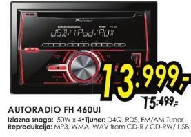 Auto radio Fh 460ui