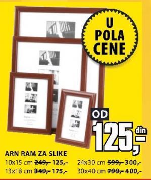 Ram za slike 13x18