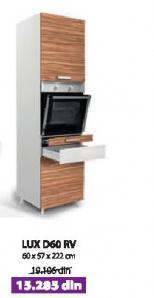 Kuhinjski element LUX D60 RV