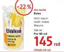 Tečni sapun med i mleko