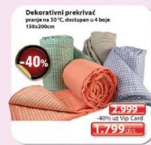 Dekorativni prekrivač