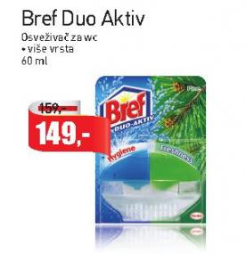 WC osveživač duo active