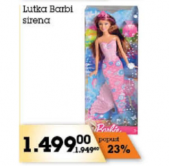 Lutka Barbi sirena