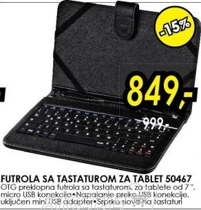 Futrola sa tastaturom za tablet 50467