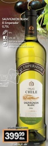 Belo vino Sauvignon