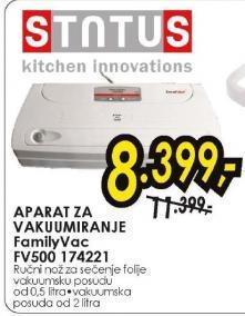 Aparat za vakuumiranje FamilyVac FV500 174221