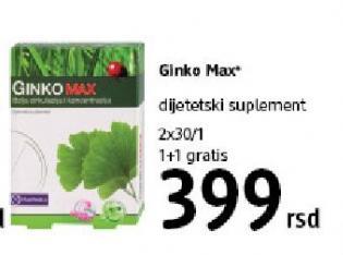 Dijetetski suplement Ginko Max