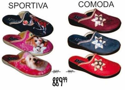 Papuče Comoda