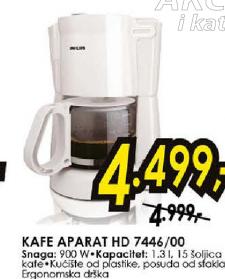 Aparat za kafu HD7446/00