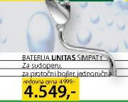 BaterijaUnitas Simpaty