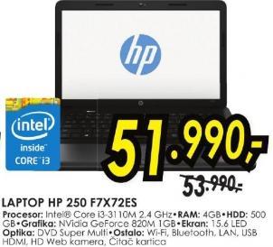 laptop 250 F7x72ea