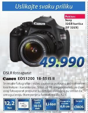 Digitalni fotoaparat EOS1200