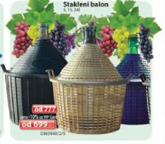 Stakleni balon