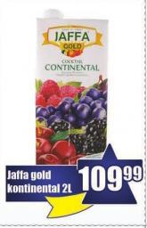 Sok Jaffa gold kontinental