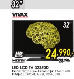 Televizor LED LCD  IMAGO 32S50D
