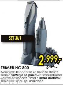 Trimer HC 800