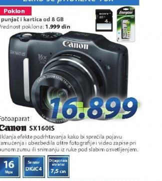 Fotoaparat SX160IS