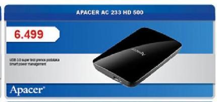 Apacer AC 233 HD 500