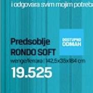 Predsoblje Rondo Soft