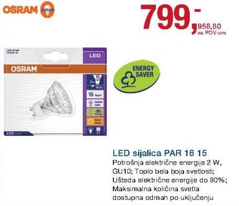 LED sijalica Par 16 15 Osram