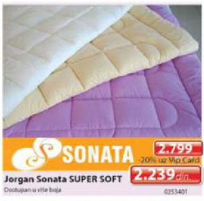 Jorgan Sonata Super Soft