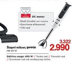 Blender štapni HB451W