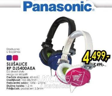 Slušalice RP DJS400AEA