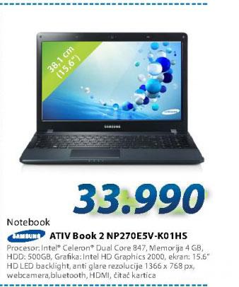 Laptop računar NP270E5V-K01HS