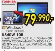 Laptop  U840W-108