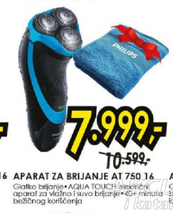 Aparat za brijanja AT750/16