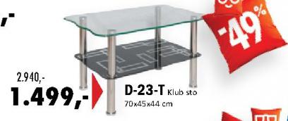 Klub sto D-23-T
