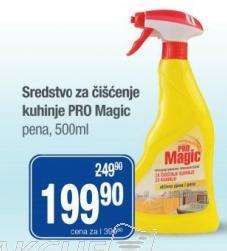 Univerzalno sredstvo za čišćenje Pro Magic
