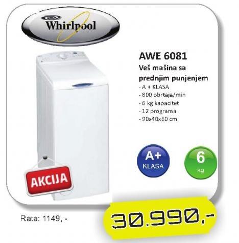 Mašina za veš AWE 6081