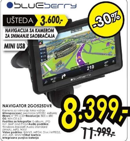 Navigator 2GO525DVR
