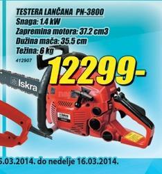 Motorna lančana testera PN 3800
