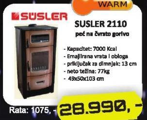 Peć 2110 Susler