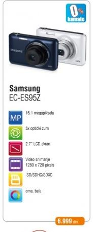Digitalni Fotoaparat EC-ES95Z