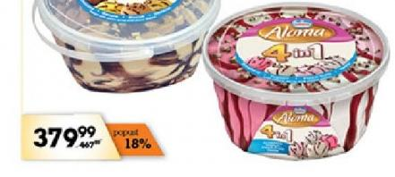 Sladoled 4 in 1 fruity