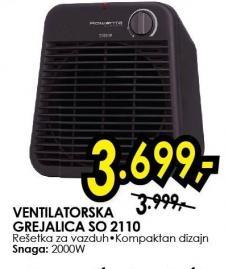 Grejalica ventilatorska So 2110