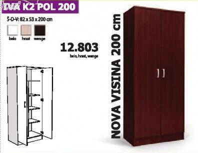 Garderober Iva K2 Pol 200