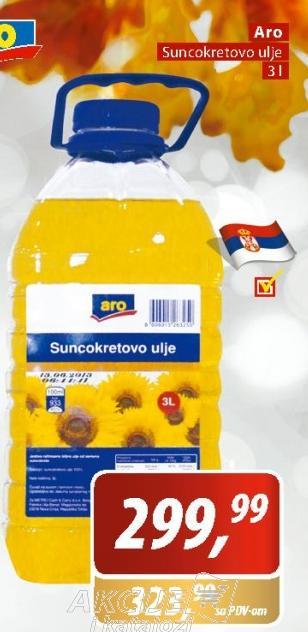 Ulje suncokretovo