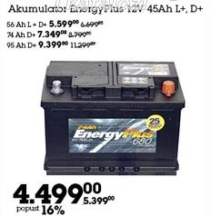 Akumulator Energy Plus