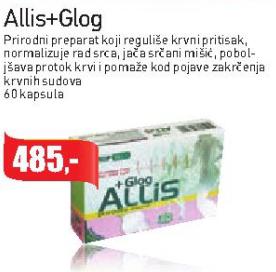 Allis+Glog kapsule