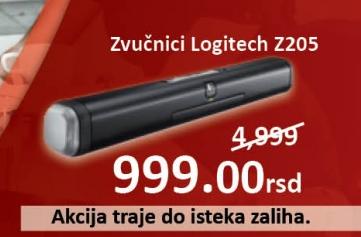 Zvučnici Z205