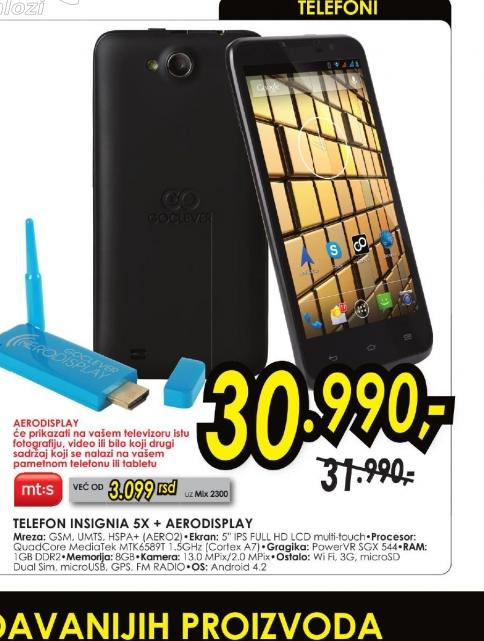 Mobilni telefon INSIGNIA 5X AERO