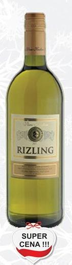 Belo vino Rizling super cena