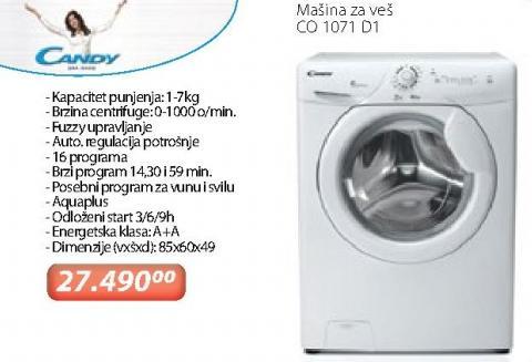 Mašina Za Pranje Veša Co 1071 D1